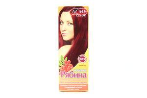 Крем-краска для волос Рябина Махагон №033 Acme Color