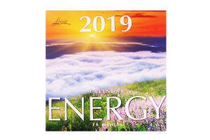 Календарь 2019 Energy Lounge Calendar Діана плюс 1шт