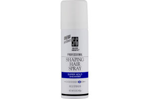 Salon Grafix Professional Shaping Hair Spray Super Hold Unscented