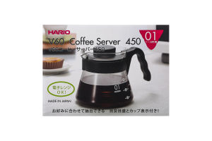Сервер для заваривания кофе 450мл V60 №VCS-01B Hario 1шт