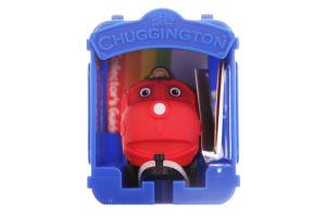 Игрушка для детей от 2 лет Паровозик Вилсон с Гаражом Chuggington 1шт