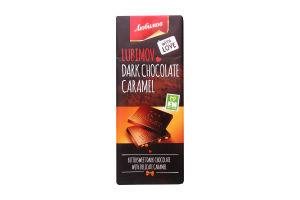 Шоколад Любимов чорний з карамеллю 85г х50