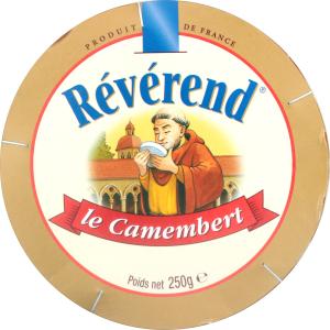 Сир 45% Камамбер Reverend к/у 250г