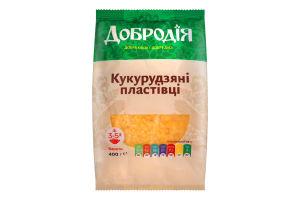 Хлопья кукурузные Добродія м/у 400г