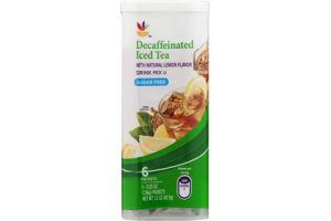 Ahold Drink Mix Decaffeinated Iced Tea Sugar Free - 6 CT