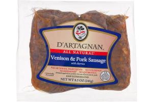 D'Artagnan Venison & Pork Sausage