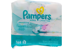 Pampers Wipes Sensitive - 168 CT