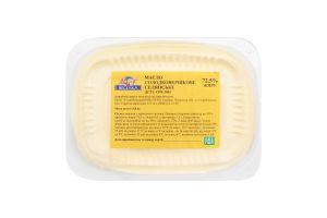 Масло 72.5% сладкосливочное Крестьянское Молочна веселка п/у 0.8кг