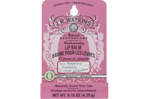 J.R. Watkins Naturals Apothecary Lip Balm Raspberry