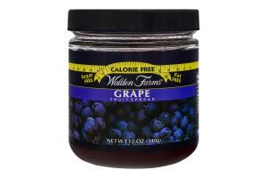 Walden Farms Grape Fruit Spread
