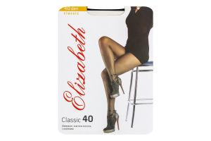 Колготки жіночі Elizabeth Classic 40den 3 nero