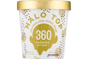 Halo Top Light Ice Cream Chocolate Chip Cookie Dough