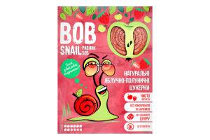 Цукерки яблучно-полуничні Bob Snail к/у 120г