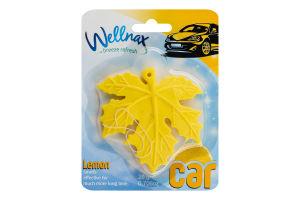 Ароматизатор для автомобиля Wellnax Лимон