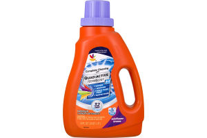 Ahold Complete Cleaning with Quad-Active Technology Laundry Detergent Wildflower Breeze