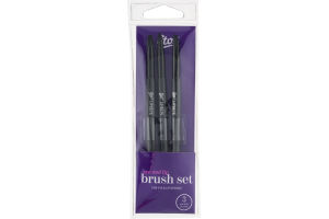 Etos Eye And Lip Brush Set - 3 CT