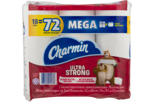 Charmin Bathroom Tissue Ultra Strong Mega Rolls - 3 PK