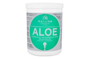 Маска для волос с экстрактом алоэ вера Aloe Kallos 1000мл