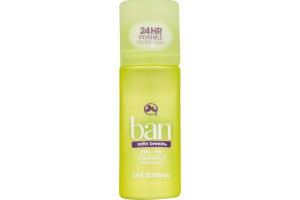 Ban Roll-On Antiperspirant Deodorant Satin Breeze