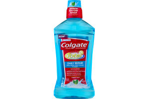 Colgate Total Flouride Mouthwash Daily Repair Fresh Mint