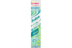Batiste Instant Hair Refresh Dry Shampoo Original Clean & Classic