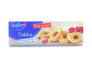 Печенье Deloba с начинкой из красной смородины Bahlsen к/у 100г