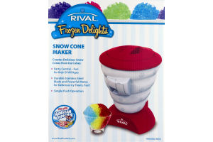 Rival Snow Cone Maker