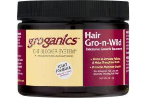 Groganics DHT Blocker System Hair Gro-n-Wild Intensive Growth Treatment