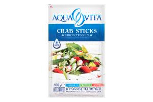 Крабові палички Aqua Vita заморожені 200г х32