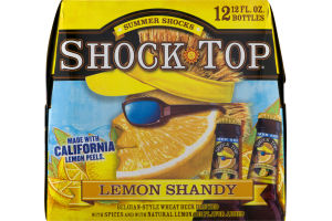 Shock Top Summer Shocks Lemon Shandy Beer - 12 PK