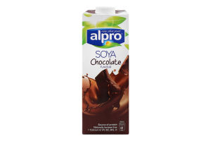 Напій соєвий Сhocolate Alpro т/п 1л