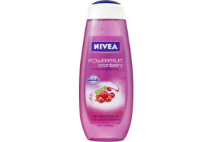 Nivea Powerfruit Cranberry Hydrating Shower Gel