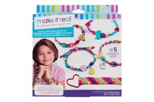 Набір для дітей від 8 років для створення шарм-браслетів №MR1316 Хвилі позитиву Make It Real 1шт