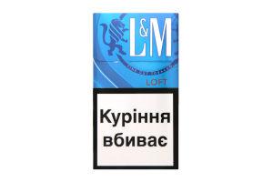 Сигарети з фільтром Loft Blue L&M 20шт