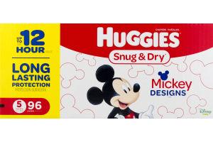 Huggies Snug & Dry Diapers Size 5 - 96 CT