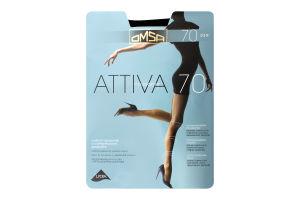 Колготки Attiva 70_Nero3 OMSA