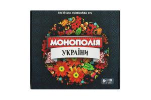 Игра настольная для детей от 8лет №7008 Монополия Украины Strateg 1шт