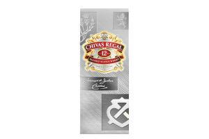 Віскі Chivas Regal 12років 40% 0.5л (короб) х3