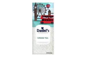 Чай Зелений Daniels Green Tea 25*2г 50г