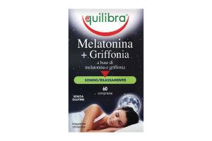 Добавка диетическая Equilibra Melatonina+Griffonia
