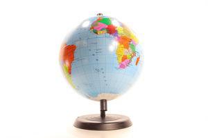 Глобус d220мм Тетрада політичний