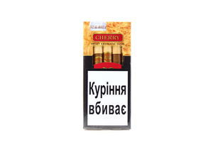 Сигари Handelsgold Wood tip-cigarillos Cherry (5шт)