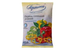 Перець солодкий різаний заморожений Артика м/у 450г
