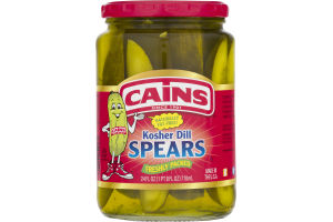 Cains Kosher Dill Spears