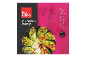 Рисовий папір Катана 50г