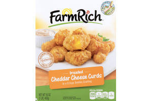 Farm Rich Breaded Cheddar Cheese Curds