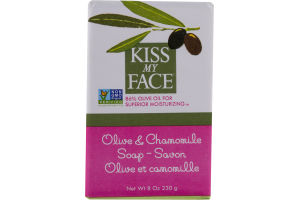 Kiss My Face Soap Bar Olive & Chamomile