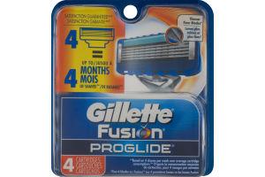 Gillette Fusion Proglide Cartridges - 4 CT
