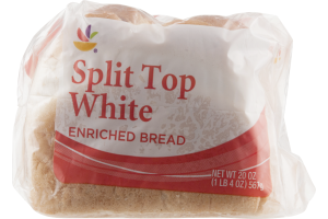 Ahold Enriched Bread Split Top White