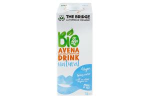 Напій вівсяний органічний Avena Drink Natural The Bridge т/п 1л